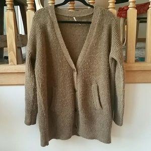 Free People sz small sweater cardigan